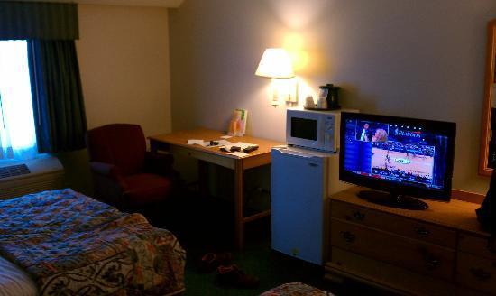 La Quinta Inn & Suites Irvine Spectrum: work area
