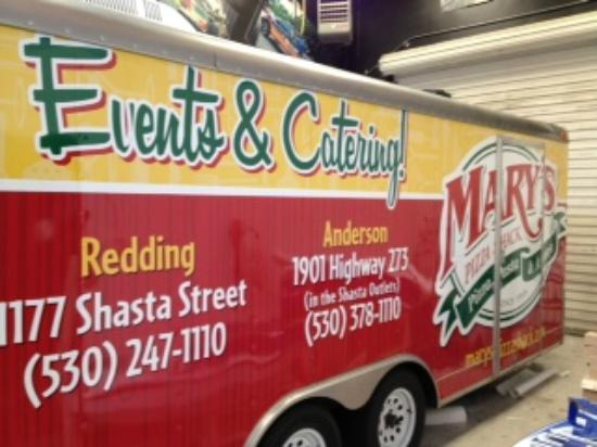 Mary's Pizza Shack : Pizza Trailer for Special Events