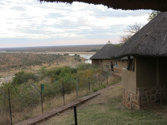 Olifants Rest Camp: View from our verandah - Bungalow 5