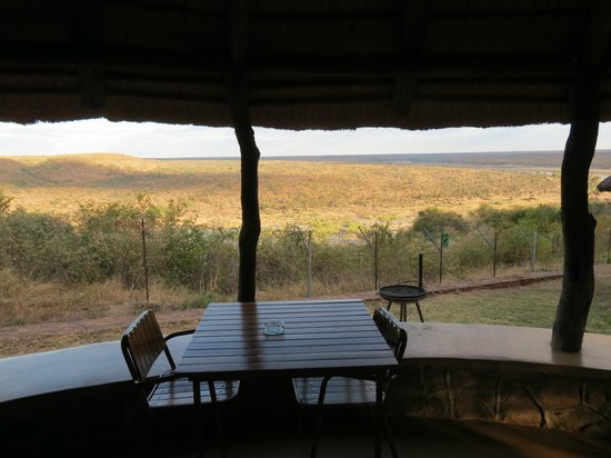 Olifants Rest Camp: View from the room