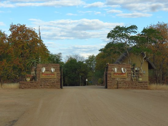 Olifants Rest Camp: Olifants Camp entrance