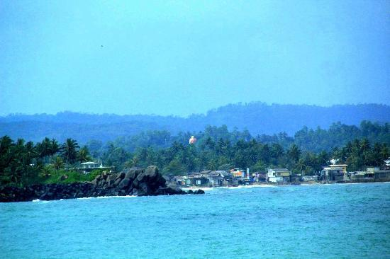 Villa Balapitiya Beach: views from galle