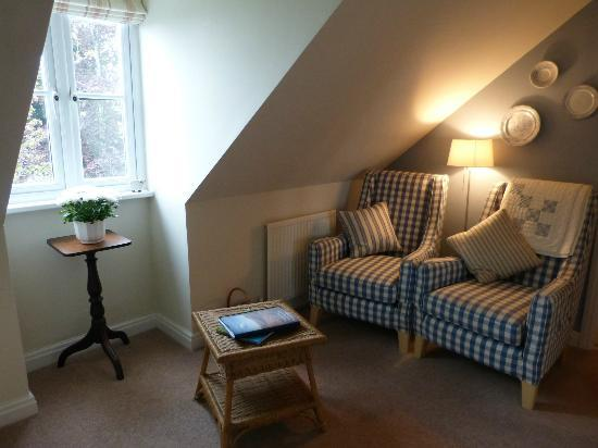 Morgans Bed and Breakfast: The suites sitting room area