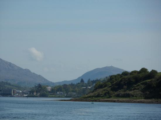 Donegal Town, Ireland: Barnesmore Gap as seen from the waterbus