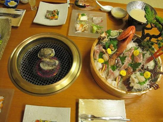 Kagetsutei: 夕食