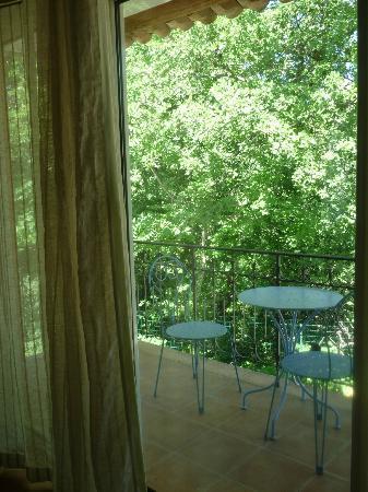 Amour Provence: Terrasse de la chambre