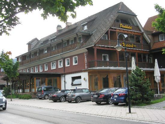 Parkhotel Waldeck : Blick auf das Hotelgebäude