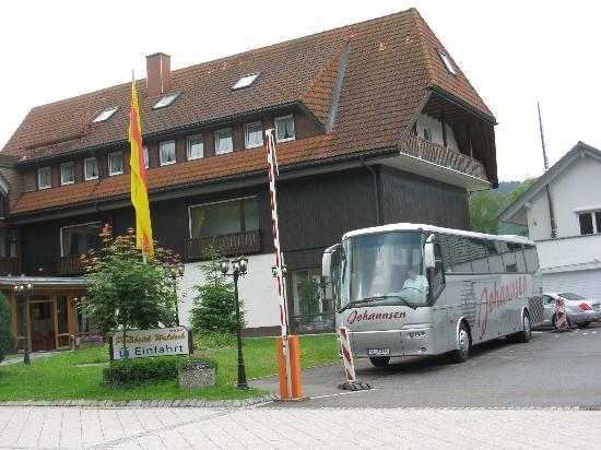 Parkhotel Waldeck : Hotel und Parkplatz