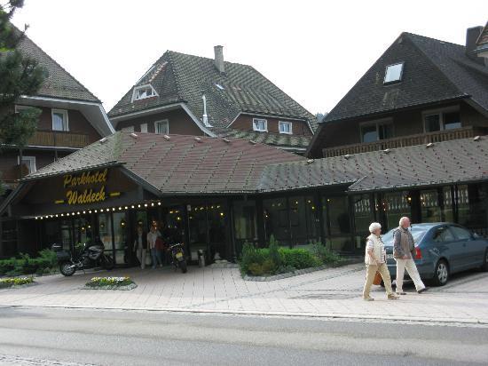 Parkhotel Waldeck : Blick auf das Hotel Waldeck