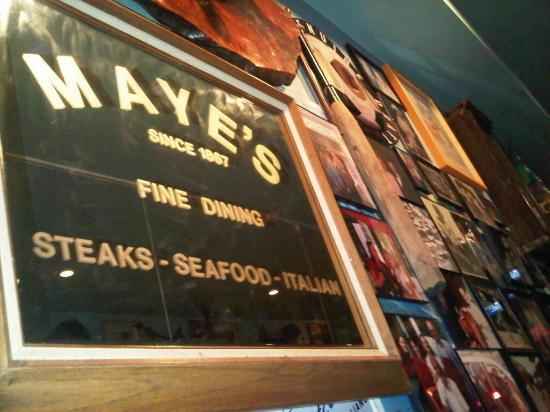 Mayes Oyster House: Maye's offer Superb Seafood & Italian Dishes