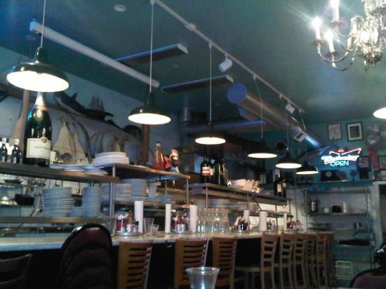 Mayes Oyster House: Interior inside..