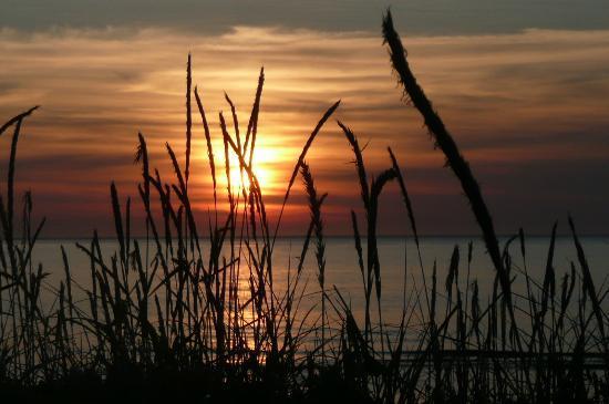 Motel Beaurivage : coucher de soleil