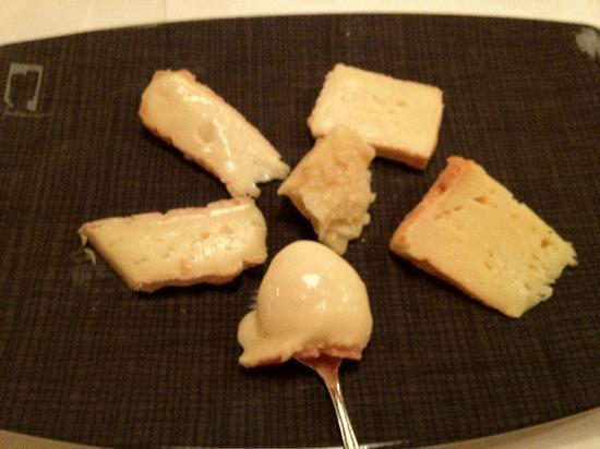 Restaurant Obauer: cheese board