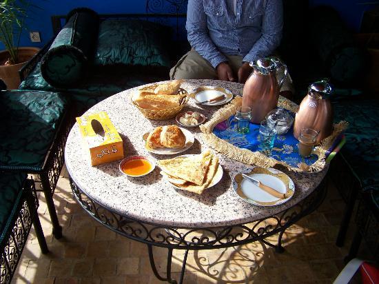 Riad Hiba Meknes: Breakfast