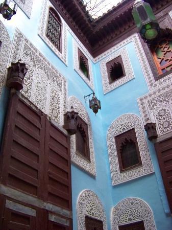 Riad Hiba Meknes: hotel lobby