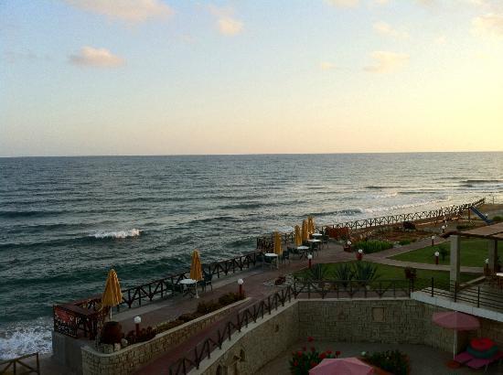 Alkionis Beach Hotel: Vue depuis le balcon