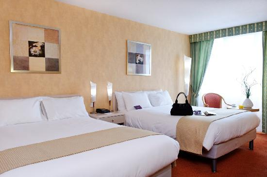 Mercure Paris Velizy Hotel : Standard Twin Room
