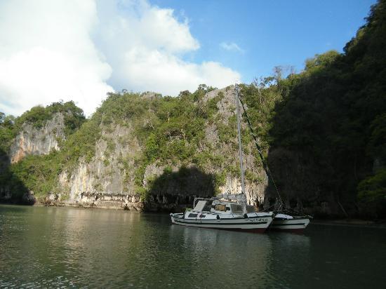 Siam Sailing: lagoon