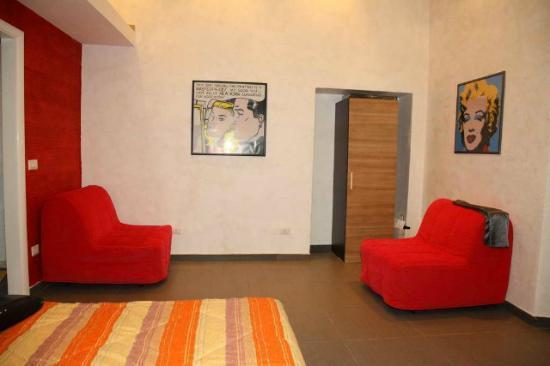 Residenza Maximus: soggiorno