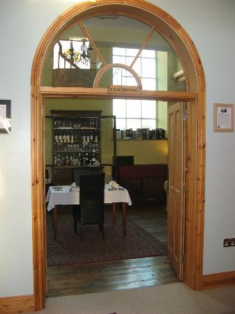St. Cuthbert's House: View into dining / lounge room
