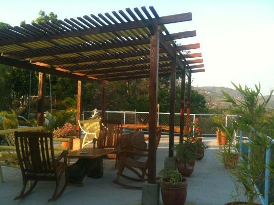 Maracuya Hostel: Terraza....