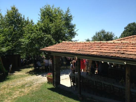 Agriturismo podere Montaglioni: Zona pranzo