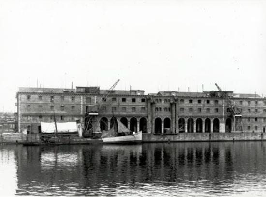 Museu d'Història de Catalunya: Fotografia històrica de l'actual edifici del museu