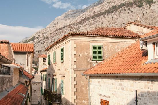 Kotor Wine Rooms: View from room
