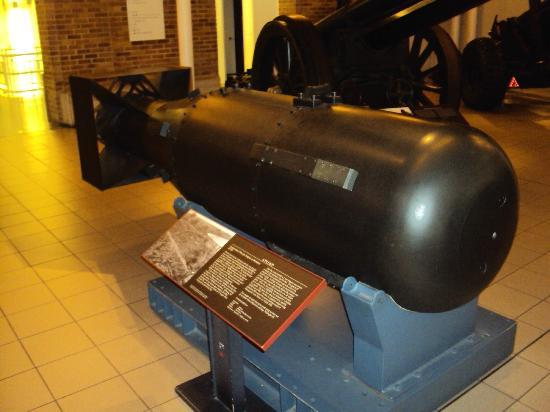 Museo imperiale della guerra: Réplica da bomba nuclear usada no ataque a Hiroshima