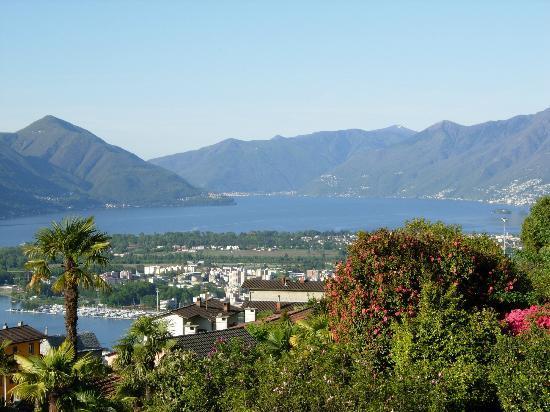 Casa Collina: Panorama su Locarno e Ascona