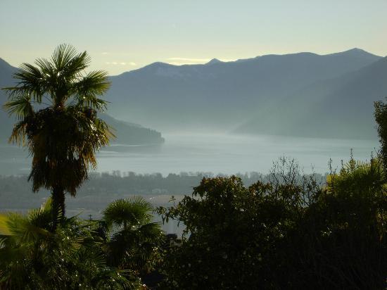Casa Collina: Panorama verso Lago Maggiore - Cannobio