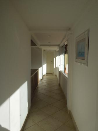 Pousada dos Buzios: Corredor de quartos do 2 andar
