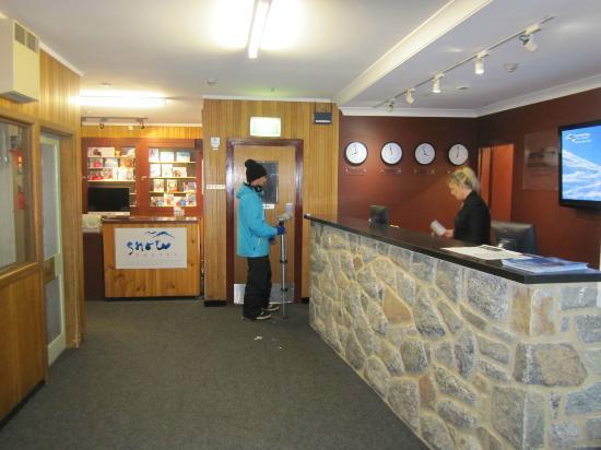 Kosciuszko Chalet Hotel: Reception