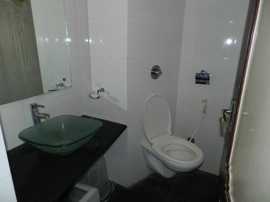 Hotel Royale Heritage : Toilet with cleaness
