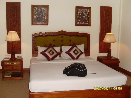 New Angkorland Hotel: bedroom