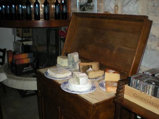 Osteria del Buchetto: Caciosteria