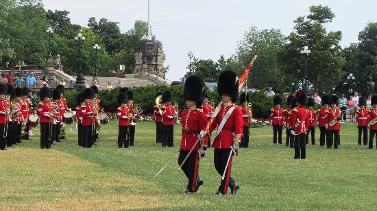 Changing of the Guard: Marching