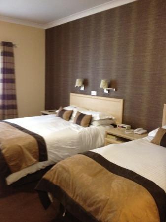 Lodge Hotel: Comfy Beds