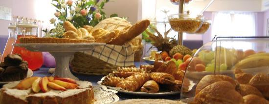 Al Giardinetto: La prima colazione