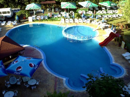 Trakia Garden Hotel: LOVELY POOL AREA SURROUNDED BY PLANTS GARDENS