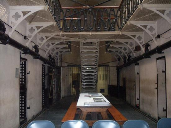 Old Jail Museum: Main Hall of Cells and Stairs