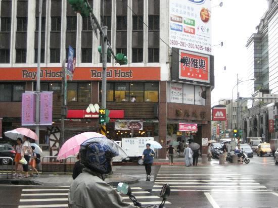 Leofoo Hotel Taipei: hoteru no mae