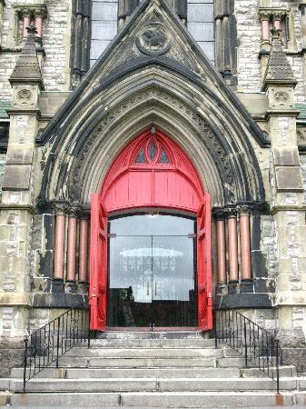 Door of Trinity Church
