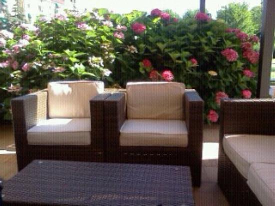 Villa Aretusi: Relax in giardino