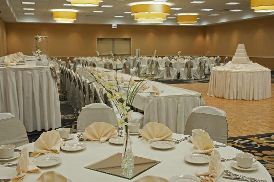 هوليداي إن شيكاجو - إلك جروف: Banquet Space, Wedding Setup