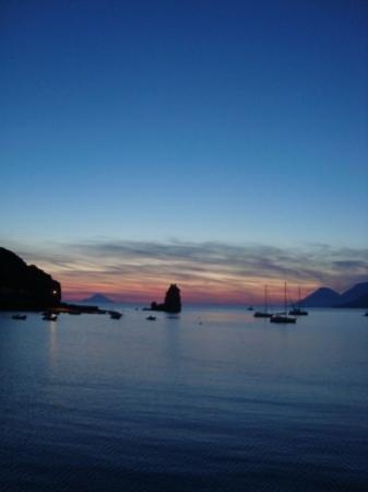 Hotel Eolian: Panorama dalla terrazza sul Mare!