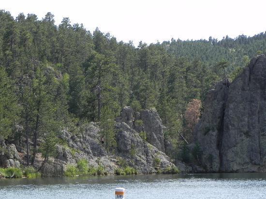 View across Legion Lake