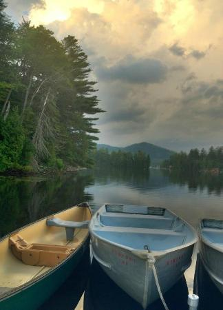Quality Inn Lake Placid: the view from the dock