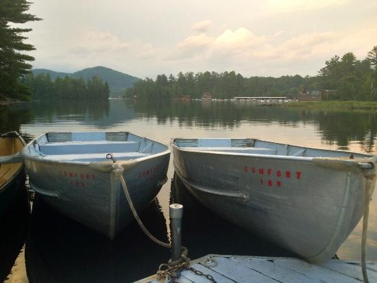 Quality Inn Lake Placid: view at dusk