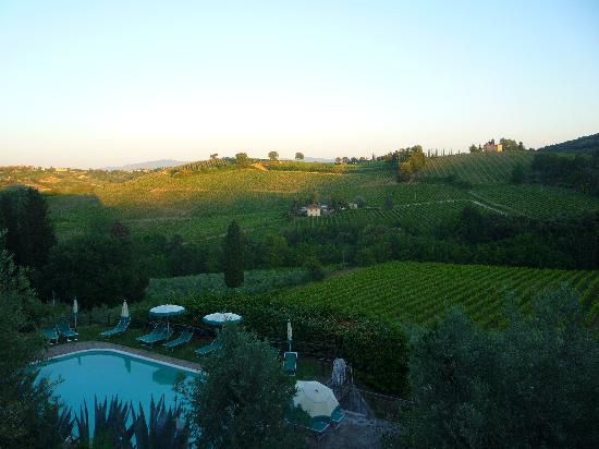 Podere Montese: View from our room